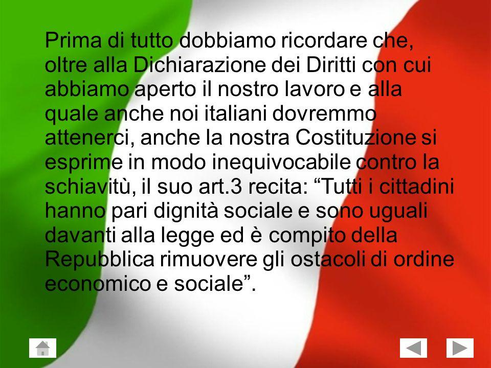 Giuseppe Vailati; Stefano Frezza Classe 2^X 3 Prima di tutto dobbiamo ricordare che, oltre alla Dichiarazione dei Diritti con cui abbiamo aperto il no