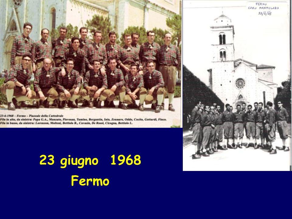 23 giugno 1968 Fermo