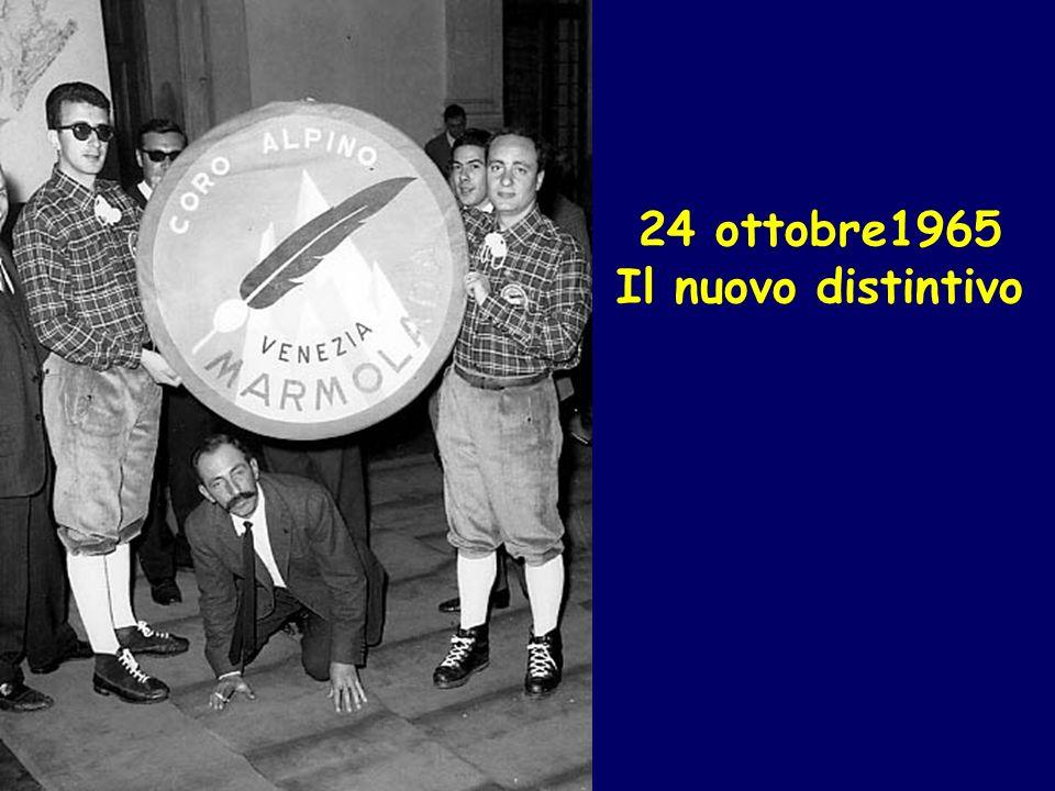 24 ottobre1965 Il nuovo distintivo