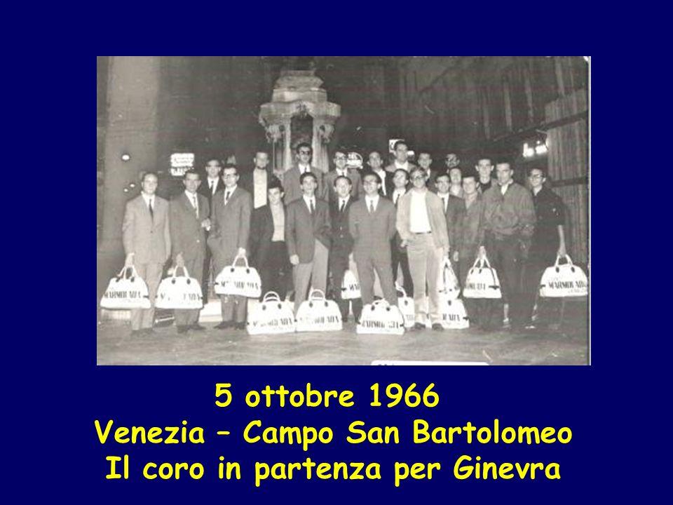 18maggio 1969 Venezia Piazza San Marco Quarta rassegna corale