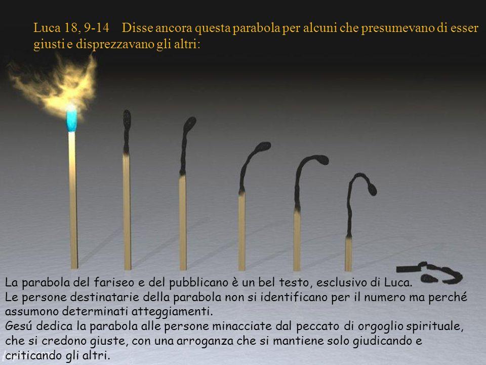 Luca 18, 9-14 / 30 Tempo Ordinario –C- Autrice: Asun Gutiérrez. Musica: Delibes. Preghiera. Le parabole sono il migliore specchio del modo di vivere d