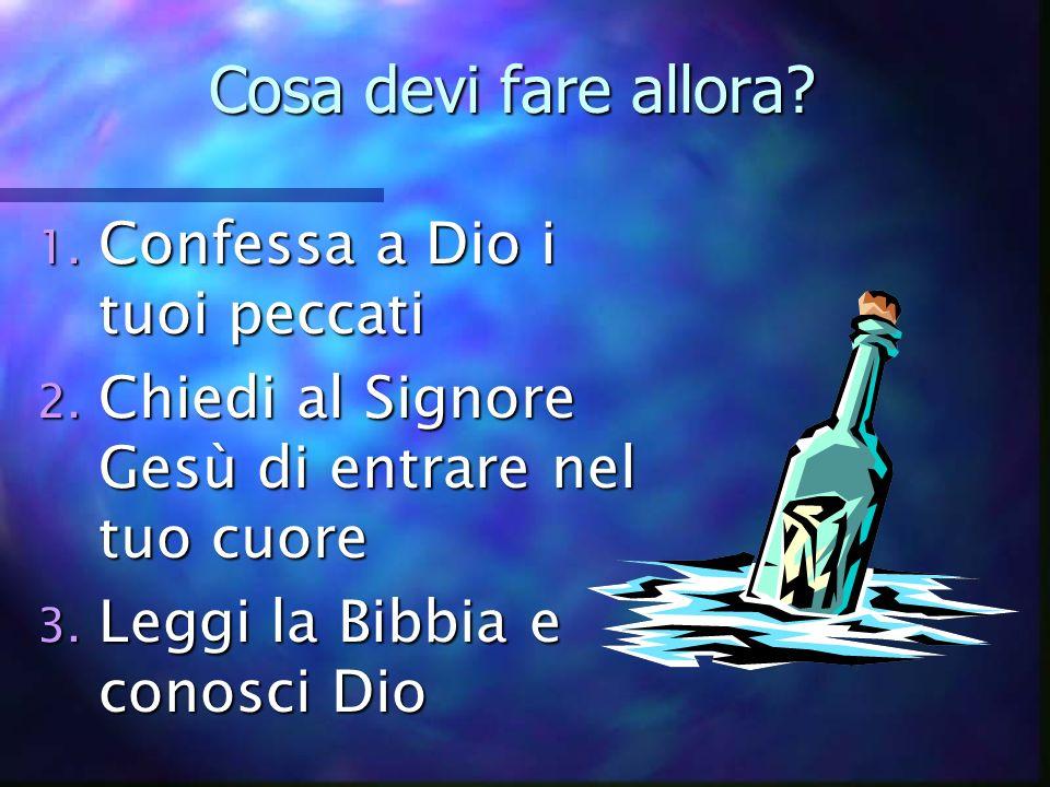 Gesù disse: In verità In verità vi dico Chi crede in me ha vita eterna Giov.6:47
