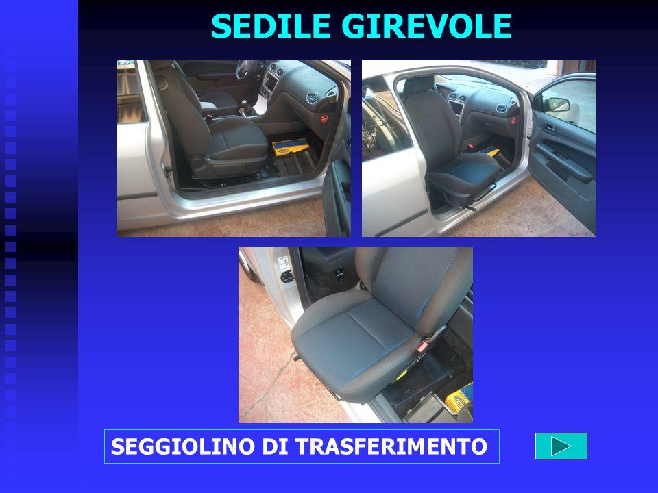 SEDILE GIREVOLE SEGGIOLINO DI TRASFERIMENTO