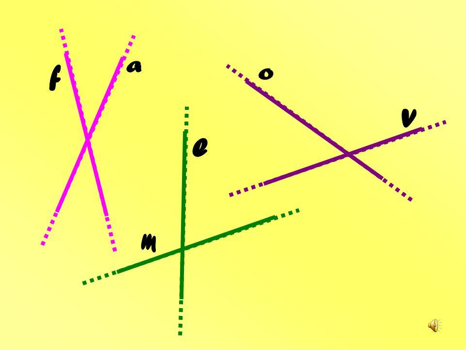 E se due linee rette hanno un punto di incontro? Diventano incidenti, ma sono sempre sorridenti!