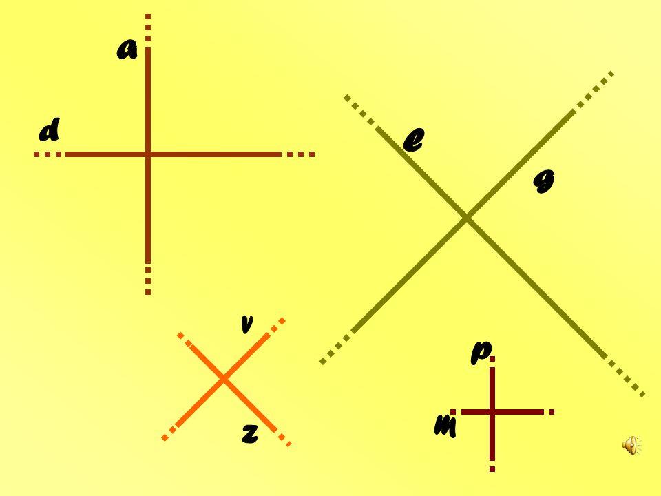 Se le rette incidenti del piano parti uguali fanno… rette perpendicolari si chiameranno!