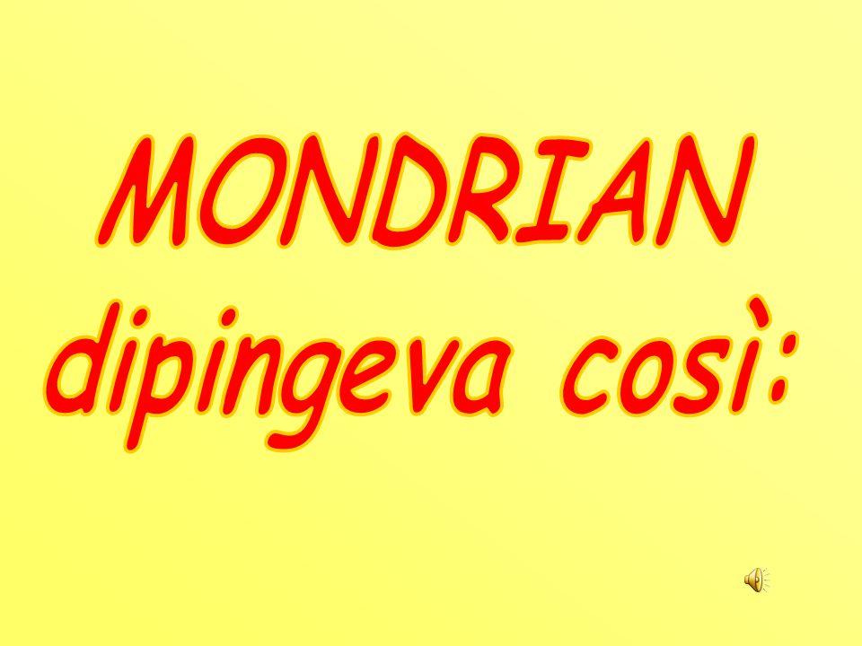 Piet Mondrian,pittore olandese nato nel 1872 e morto a New York nel 1944, è uno dei maggiori rappresentanti della pittura moderna. I suoi quadri più f