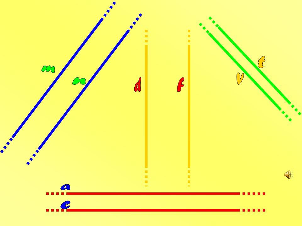 Se poi due linee rette nella stessa direzione vanno, ma punti di incontro proprio non ne hanno rette parallele esse diventeranno.
