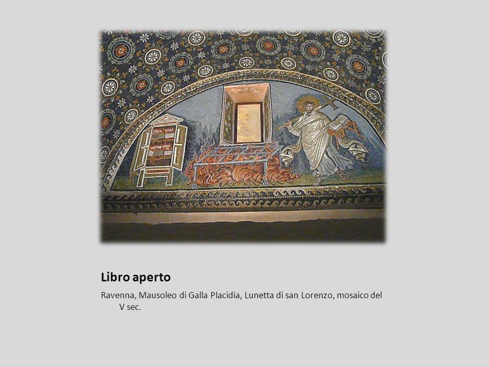Libro aperto Roma, Chiesa di Santa Pudenziana, mosaico del IV-V sec.