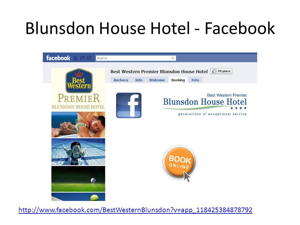 Blunsdon House Hotel - Facebook http://www.facebook.com/BestWesternBlunsdon?v=app_118425384878792