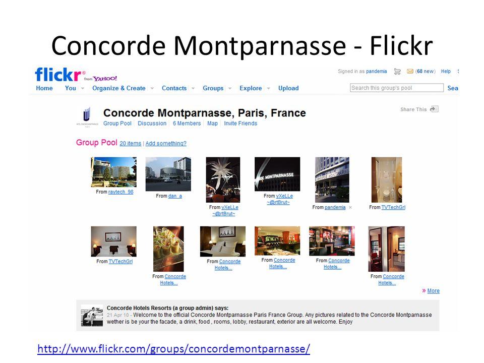 Concorde Montparnasse - Flickr http://www.flickr.com/groups/concordemontparnasse/