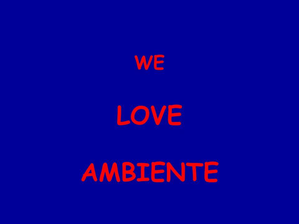 WE LOVE AMBIENTE
