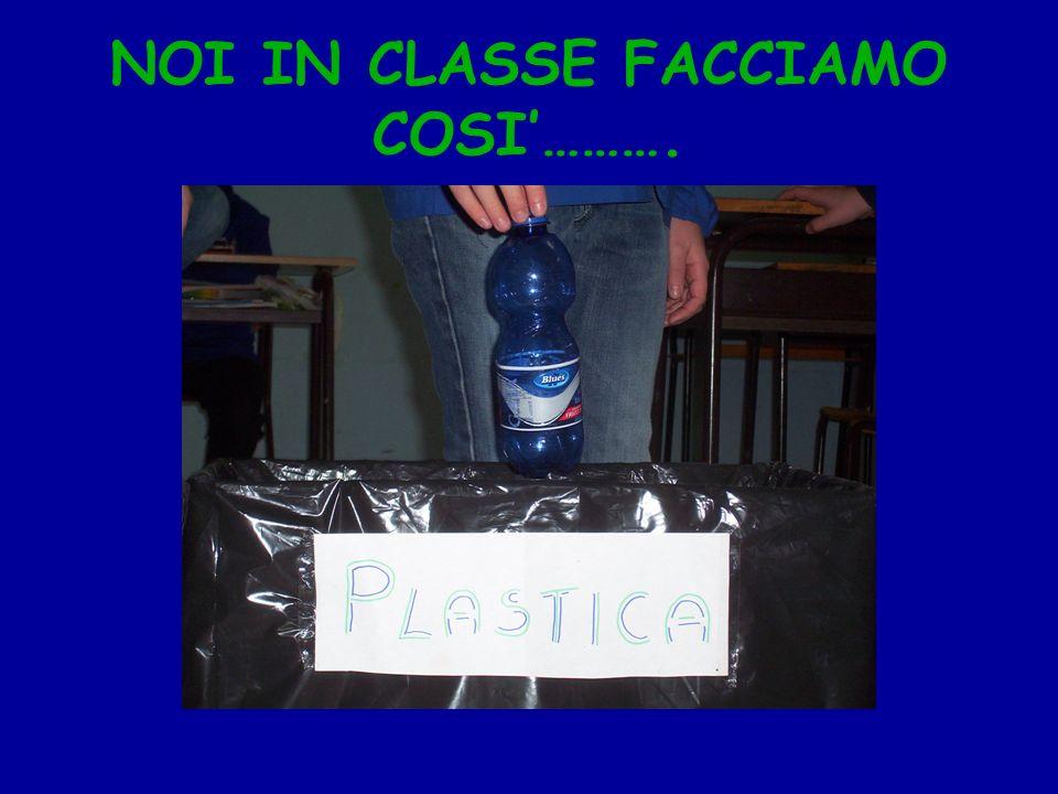 NOI IN CLASSE FACCIAMO COSI……….