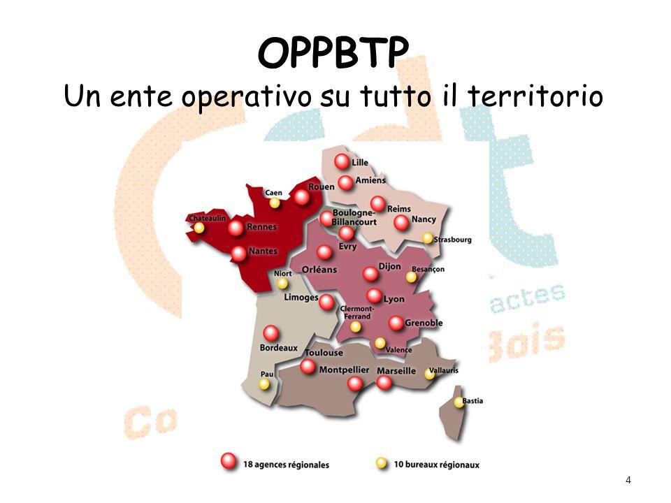 OPPBTP Un ente operativo su tutto il territorio 4