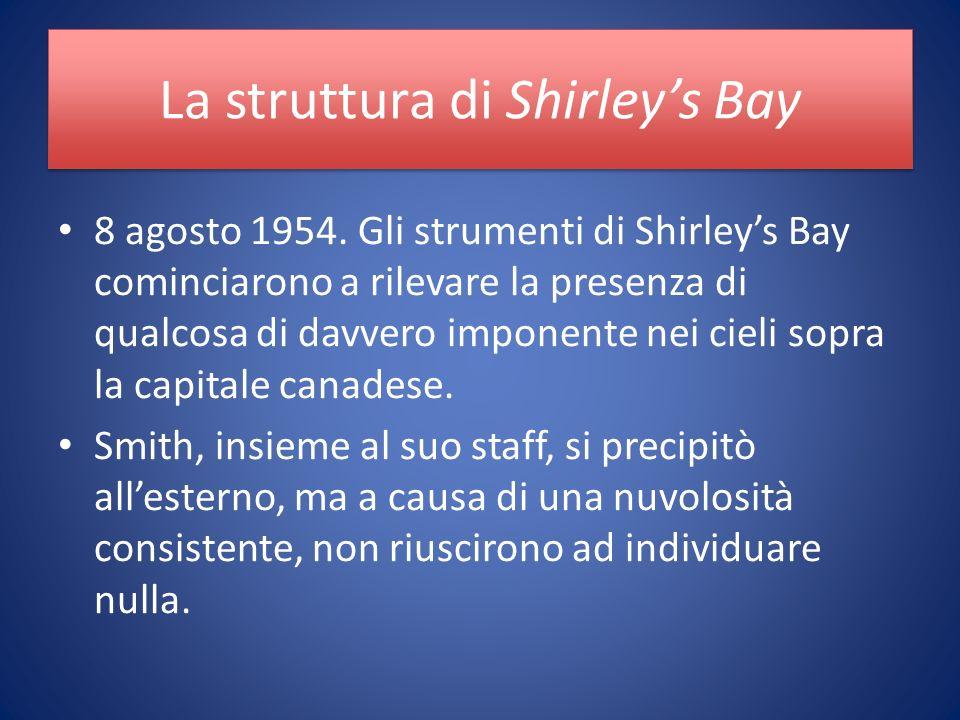 La struttura di Shirleys Bay 8 agosto 1954.