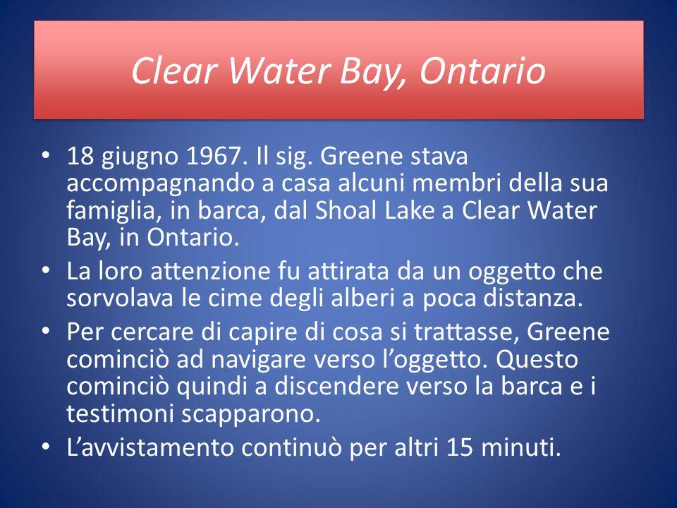 Clear Water Bay, Ontario 18 giugno 1967. Il sig.
