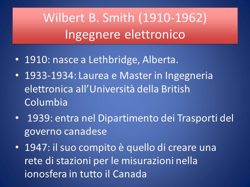 1910: nasce a Lethbridge, Alberta.