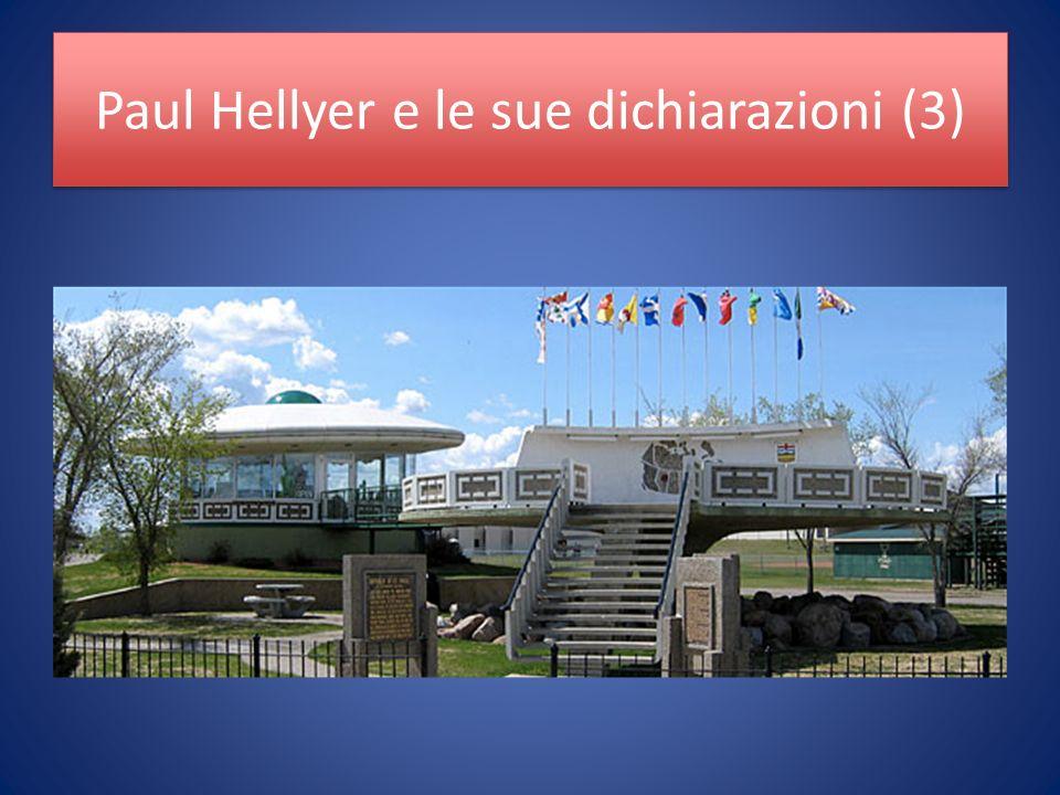 Paul Hellyer e le sue dichiarazioni (3)