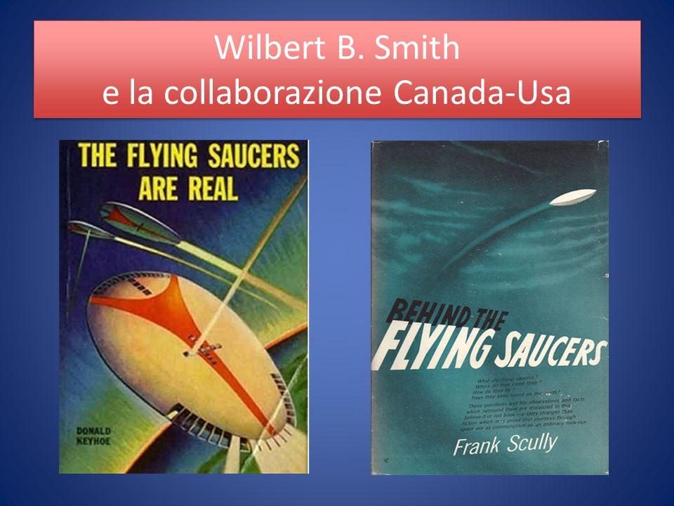 Wilbert B. Smith e la collaborazione Canada-Usa