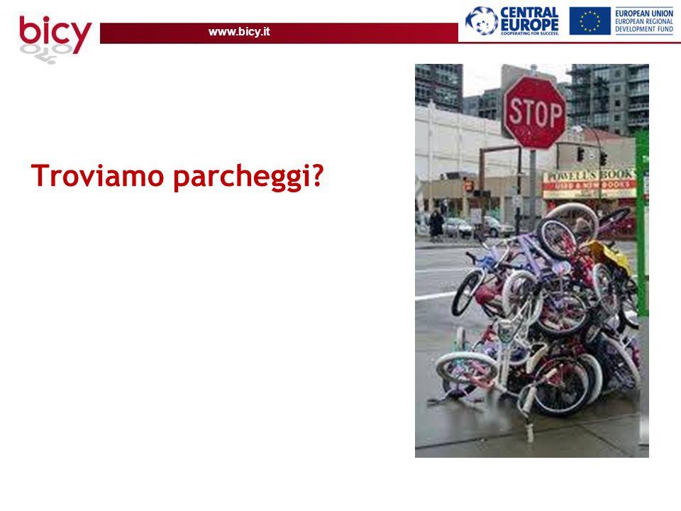 www.bicy.it Troviamo parcheggi