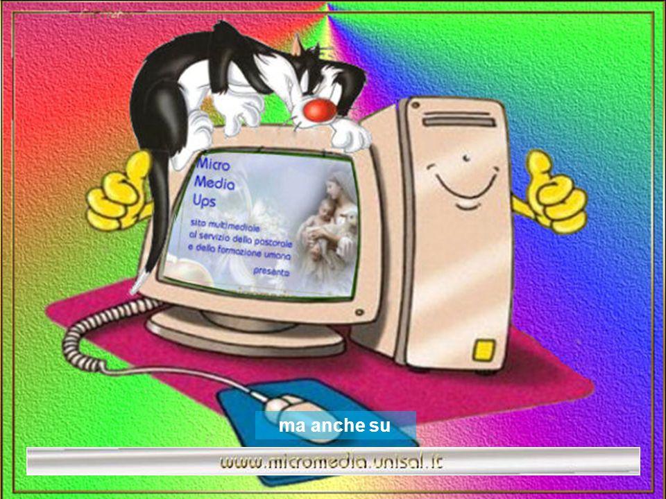 Però, quando sarai stanco di stare allaria aperta, ricordati che ci sono amici anche dietro allo schermo del computer, che ti aspettano per farti comp