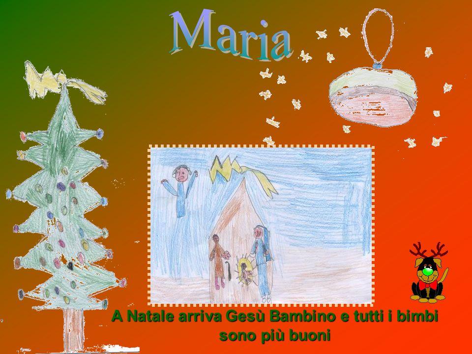 A Natale arriva Gesù Bambino e tutti i bimbi sono più buoni