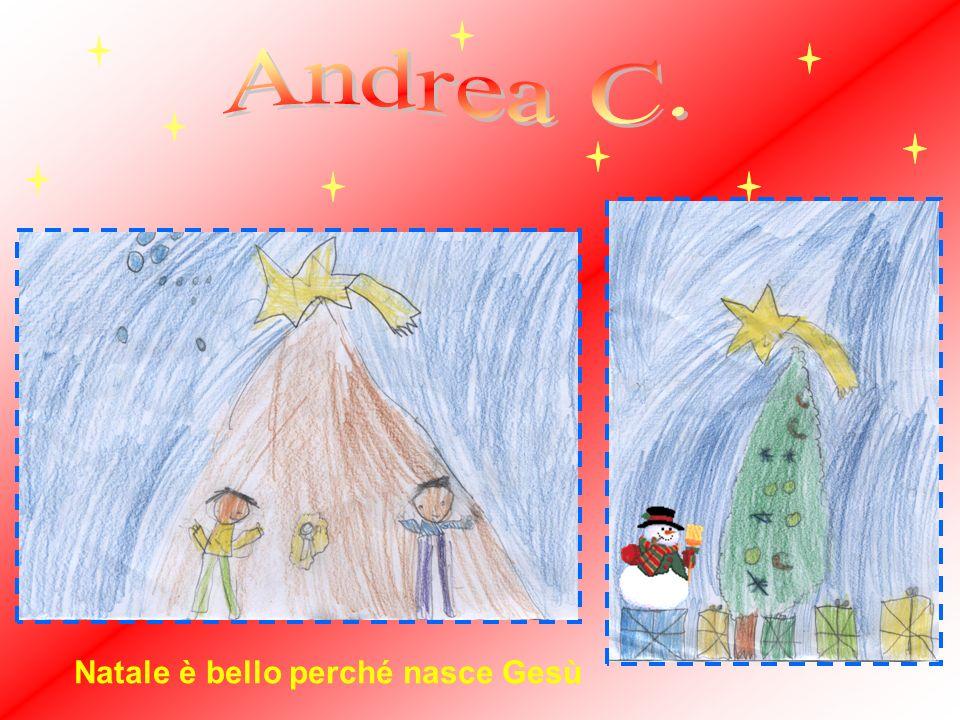 Natale è bello perché nasce Gesù