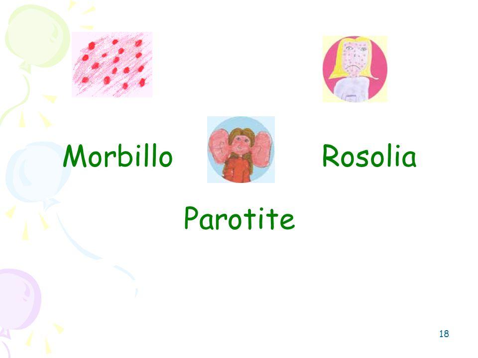 18 Morbillo Rosolia Parotite