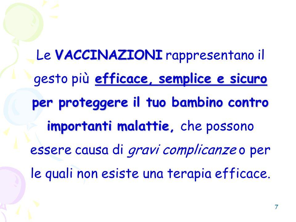 28 MalattiaTasso di riproduzione (R0) Tasso critico di copertura vaccinale (%) P=1-1/R0 Morbillo15-1792-95 Pertosse15-1792-95 Parotite10-1290-92 Rosolia7-880-87 Difterite5-680-85 Poliomielite5-680-85 Contagiosità Copertura da raggiungere