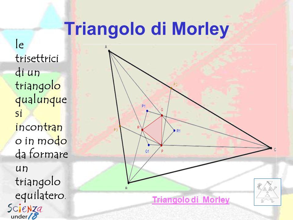 Retta di Eulero In un triangolo ortocentro baricentro e circocentro sono allineati : la retta a cui appartengono si chiama retta di Eulero. Retta di E
