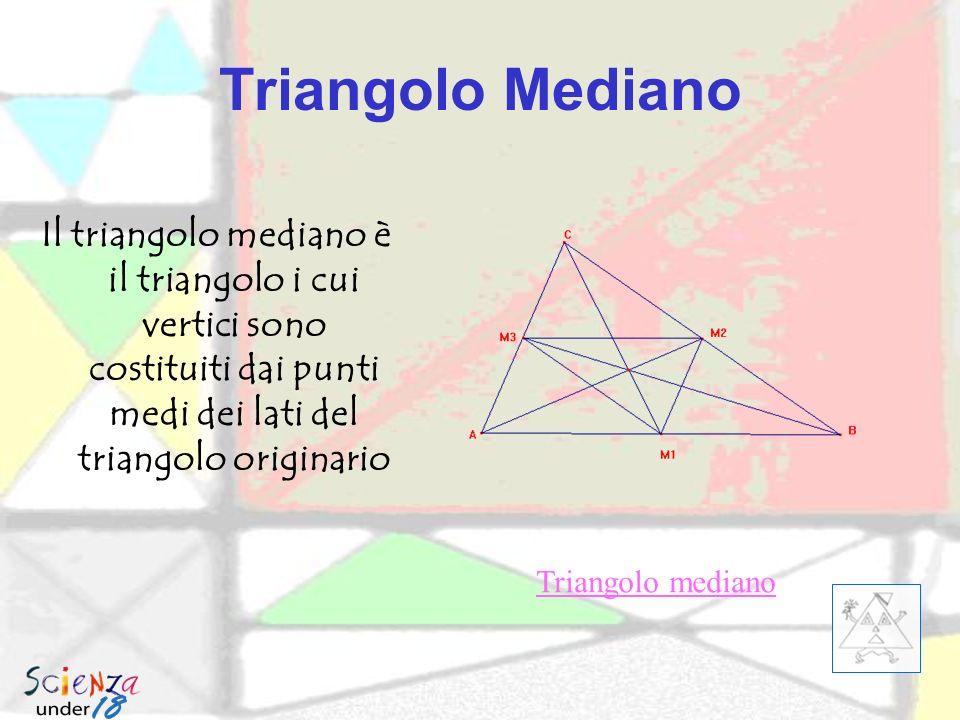 Triangolo di Morley le trisettrici di un triangolo qualunque si incontran o in modo da formare un triangolo equilatero.
