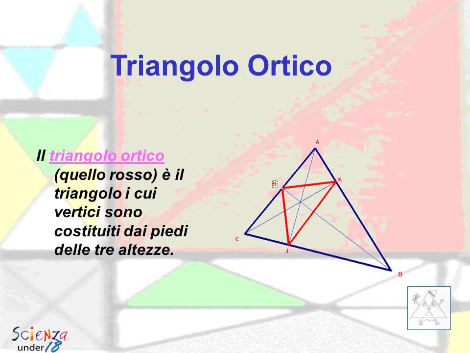 Triangolo Mediano Il triangolo mediano è il triangolo i cui vertici sono costituiti dai punti medi dei lati del triangolo originario Triangolo mediano