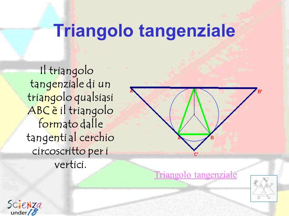 Il triangolo pedale si può costruire a partire da un punto P qualsiasi interno al triangolo.