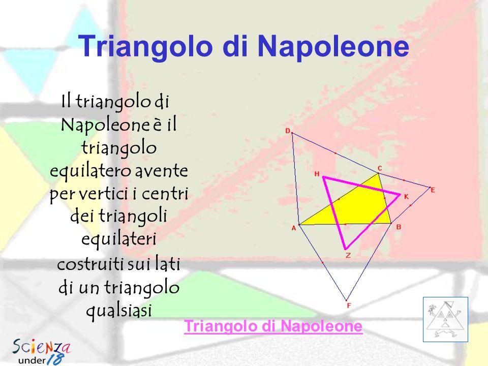 Triangolo tangenziale Il triangolo tangenziale di un triangolo qualsiasi ABC è il triangolo formato dalle tangenti al cerchio circoscritto per i vertici.