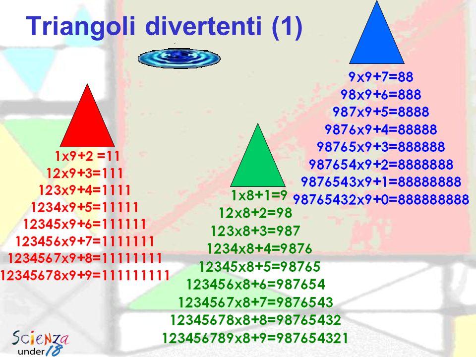 Triangolo di Napoleone Il triangolo di Napoleone è il triangolo equilatero avente per vertici i centri dei triangoli equilateri costruiti sui lati di