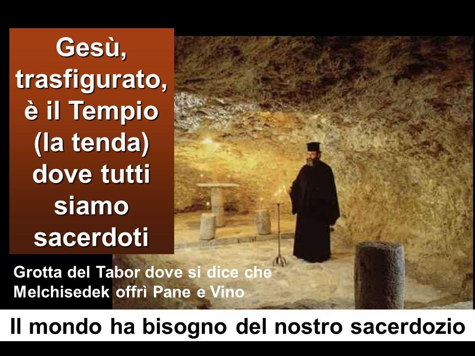 Prendendo la parola, Pietro disse a Gesù: «Rabbì, è bello per noi essere qui; facciamo tre capanne, una per te, una per Mosè e una per Elia». Non sape