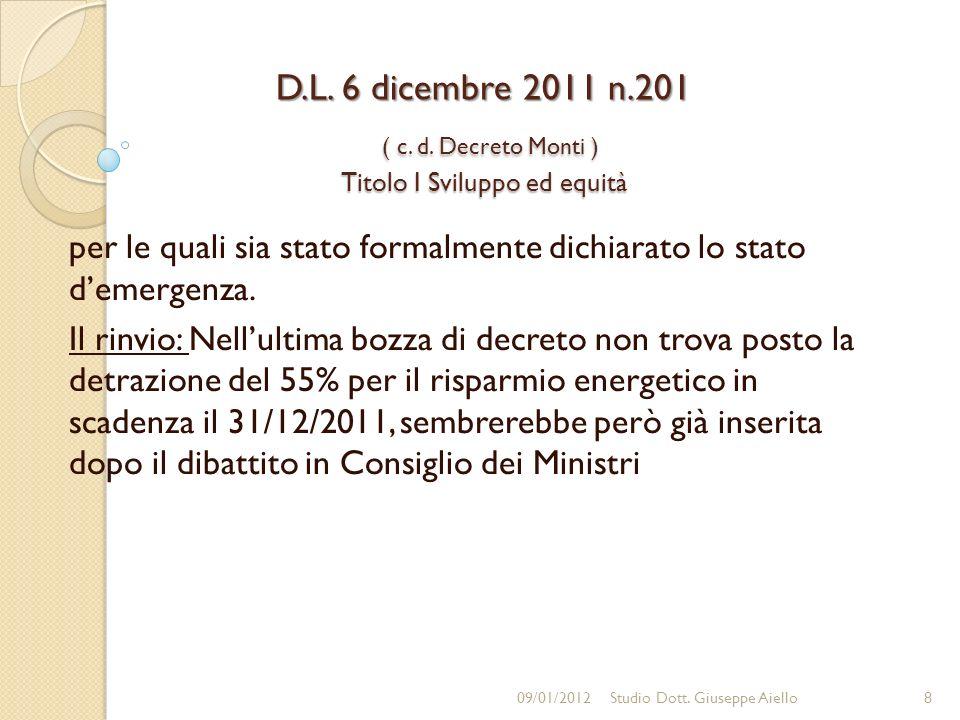 D.L.6 dicembre 2011 n.201 ( c. d.
