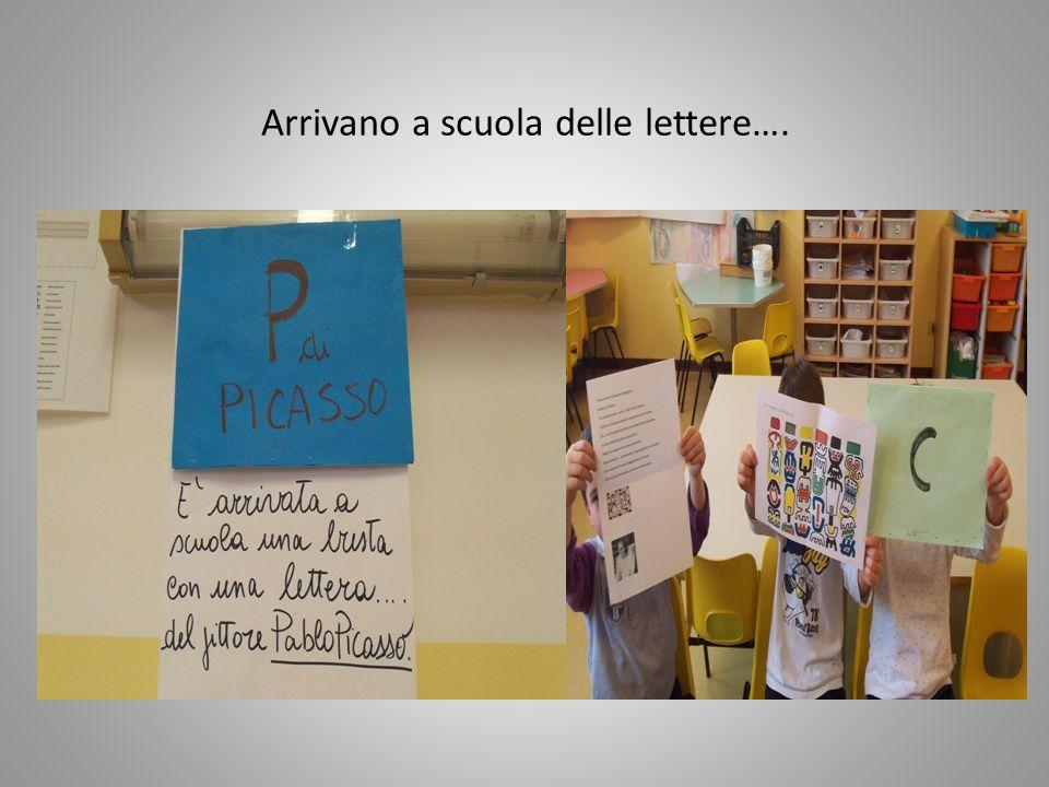 Arrivano a scuola delle lettere….