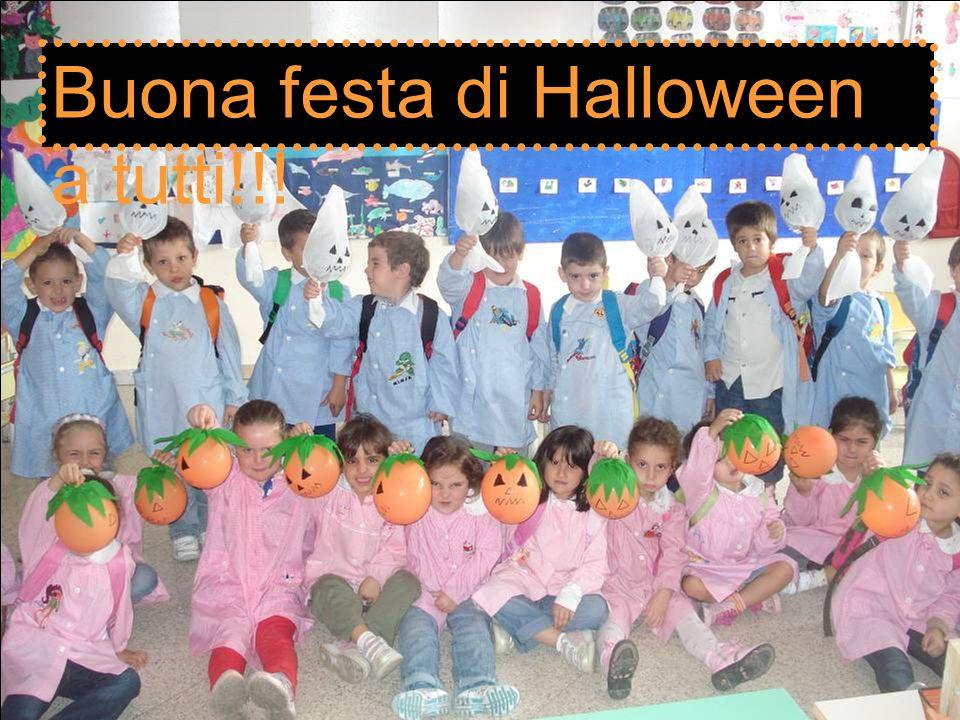 Buona festa di Halloween a tutti!!!