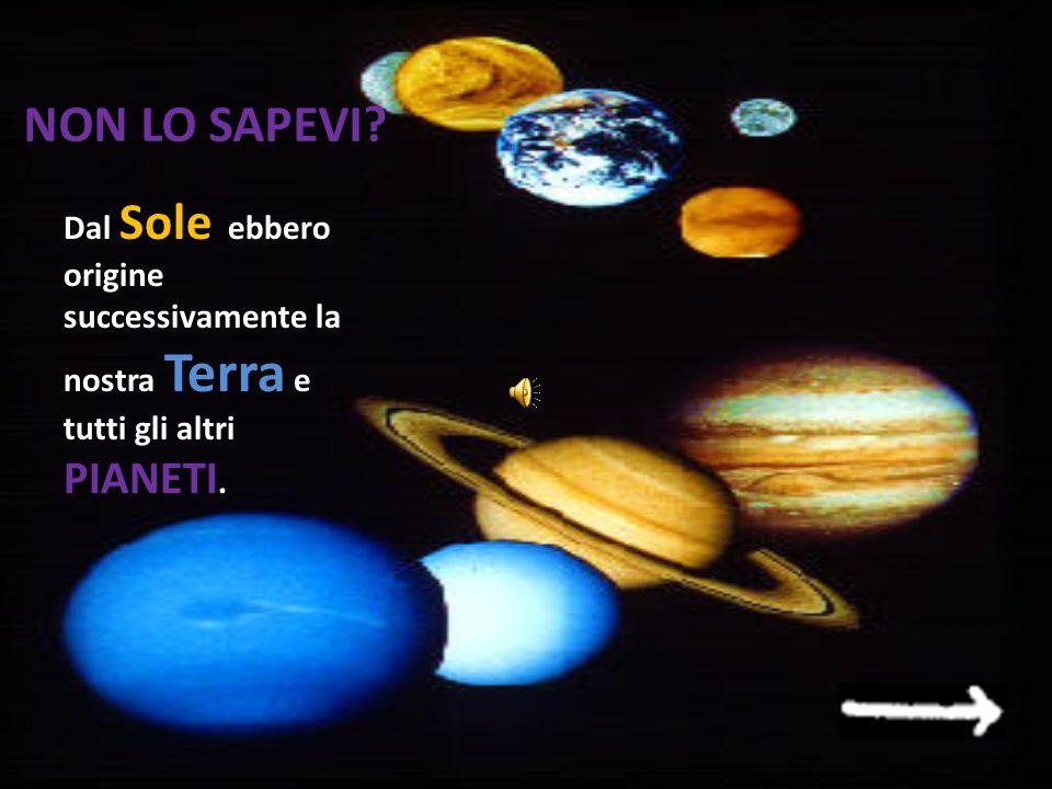 5)Cosa si formò intorno al Sole? A.La Terra e gli altri pianeti La Terra e gli altri pianetiLa Terra e gli altri pianeti B.Le stelle e le galassie Le
