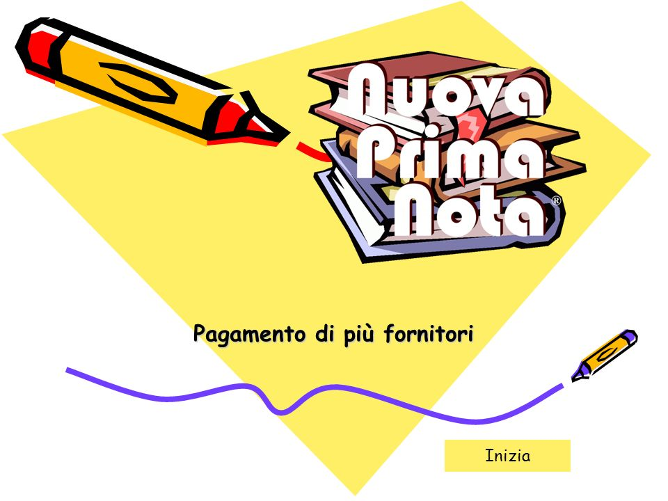 Indietro Avanti Nuova Prima Nota - Pagamento fornitori2 Esempio di registrazione: pagamento di 3 fornitori diversi in data 31/08/2010 Fornitore Demo 1:.