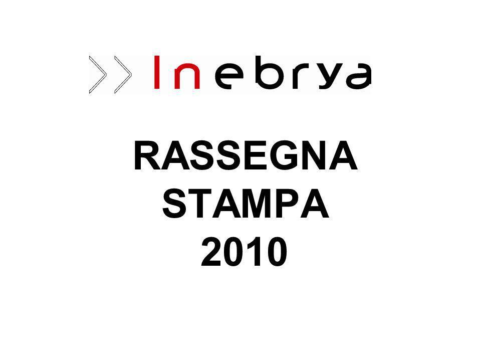 RASSEGNA STAMPA 2010
