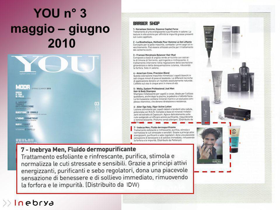 YOU n° 3 maggio – giugno 2010 IDW)