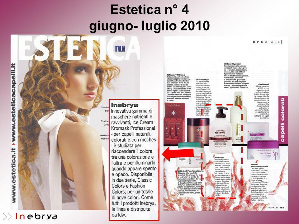 Estetica n° 4 giugno- luglio 2010