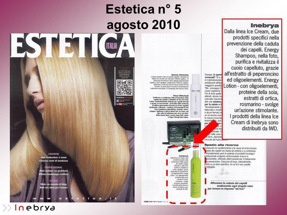 Estetica n° 5 agosto 2010