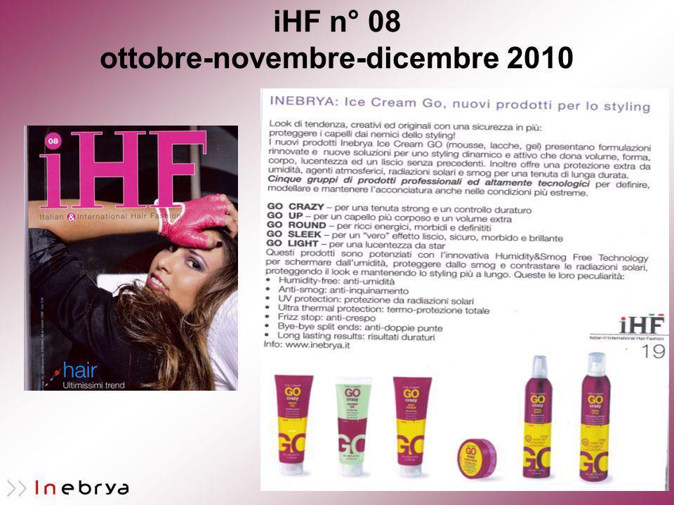 iHF n° 08 ottobre-novembre-dicembre 2010