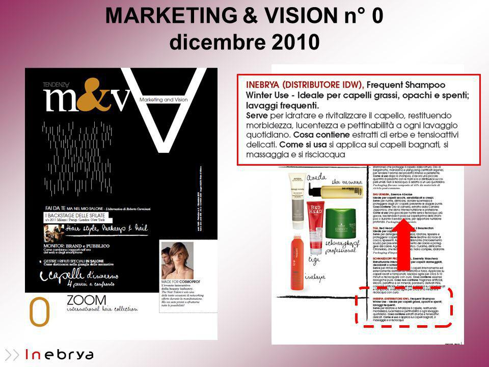 MARKETING & VISION n° 0 dicembre 2010