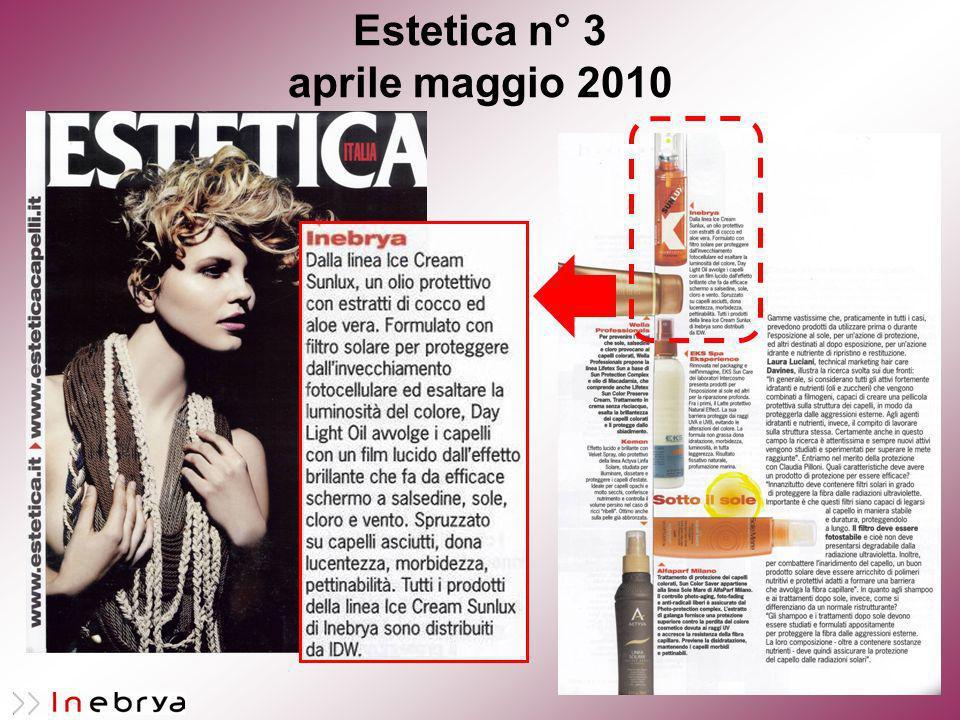 Estetica n° 3 aprile maggio 2010