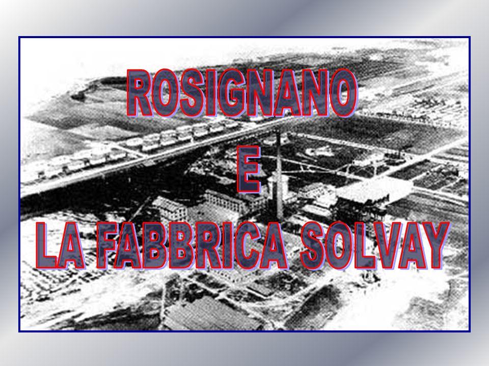 IL COMUNE DI ROSIGNANO M.MO PRIMA DELLINSEDIAMENTO SOLVAY Nel 1911 la popolazione nel territorio di Rosignano Marittimo ammontava a 10.149 abitanti con una densità media di circa 85 abitanti per kmq.