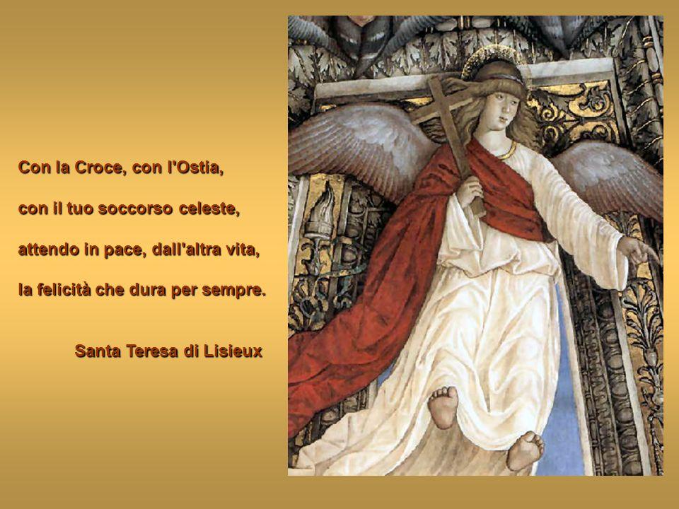 A te il regno e la gloria, le ricchezze del Re dei re. A me il Pane del Santo Ciborio, a me il tesoro della Croce. Cristo di San Giovanni della Croce