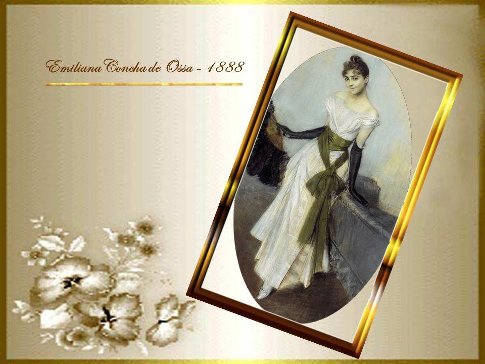 M.me de Alvear de Errazuriz- 1882